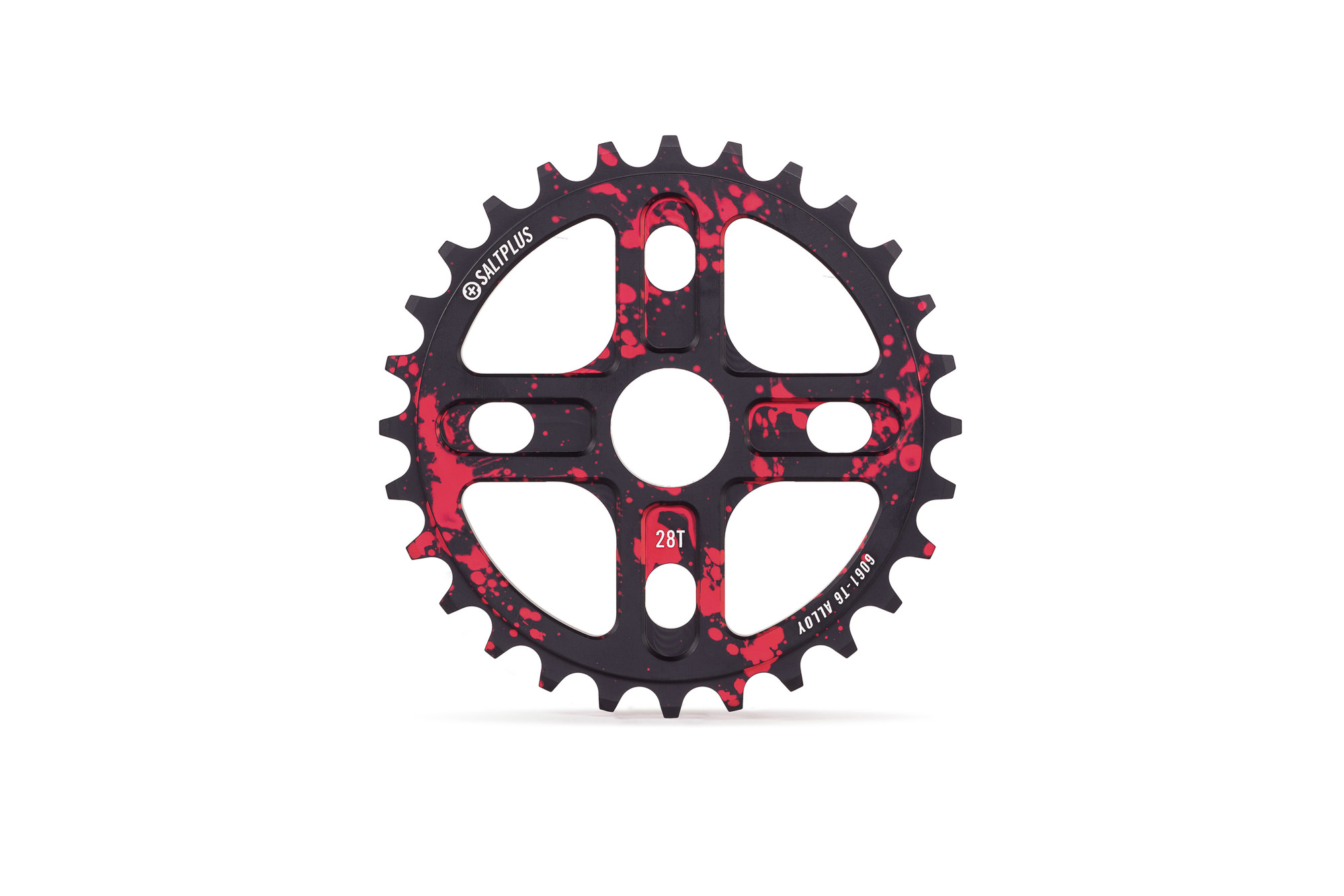 SaltPlus_Manta_sprocket_28t_black_red_splatter_01