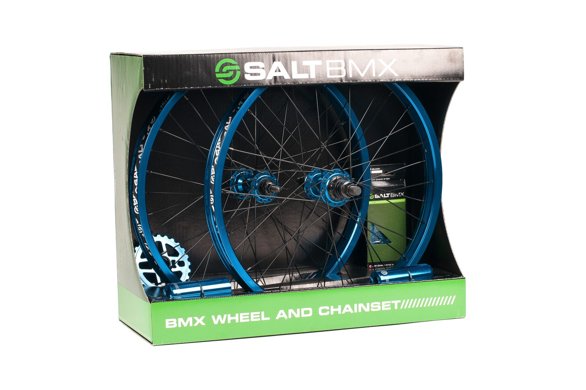 Salt_Valon_wheel_and_chainset_cyan